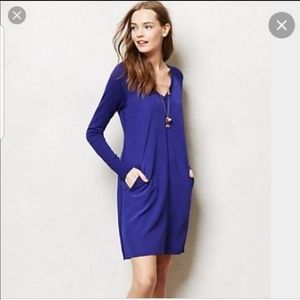 Anthropologie Cluny Lucca Silk Sweater Dress